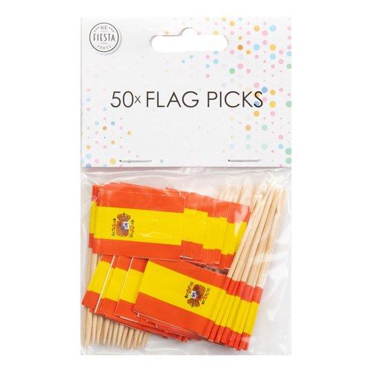 Partypicks Spanien - 50-pack
