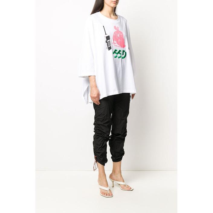 Diesel Women's T-Shirt White 294103 - white XS
