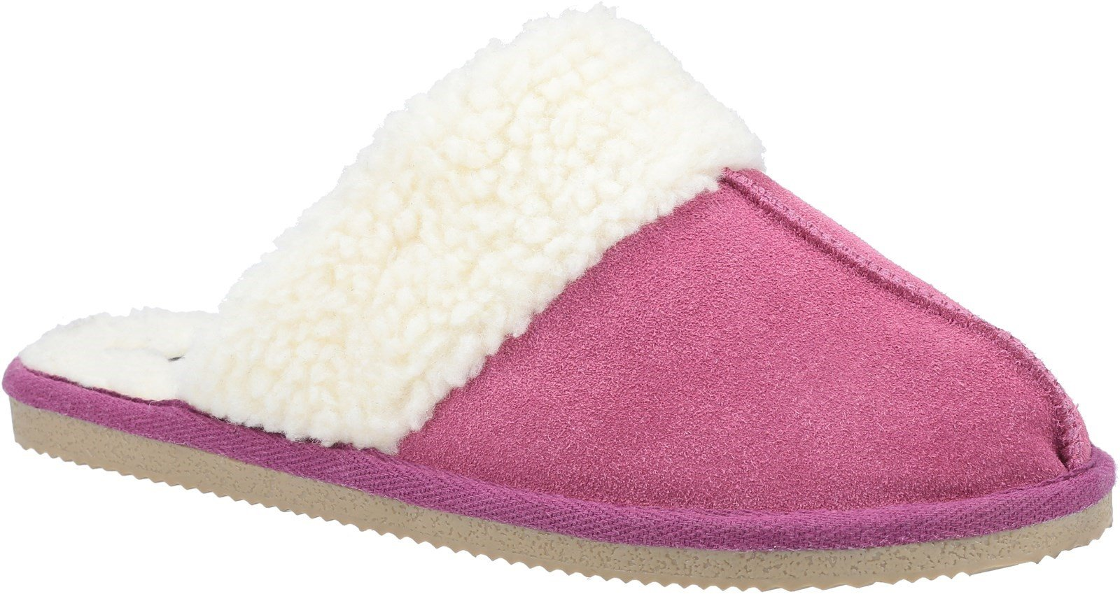 Hush Puppies Women's Arianna Mule Slippers Various Colours 31183 - Pink 3