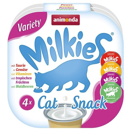 Animonda Milkies Variety Kattgodis 4x15 g