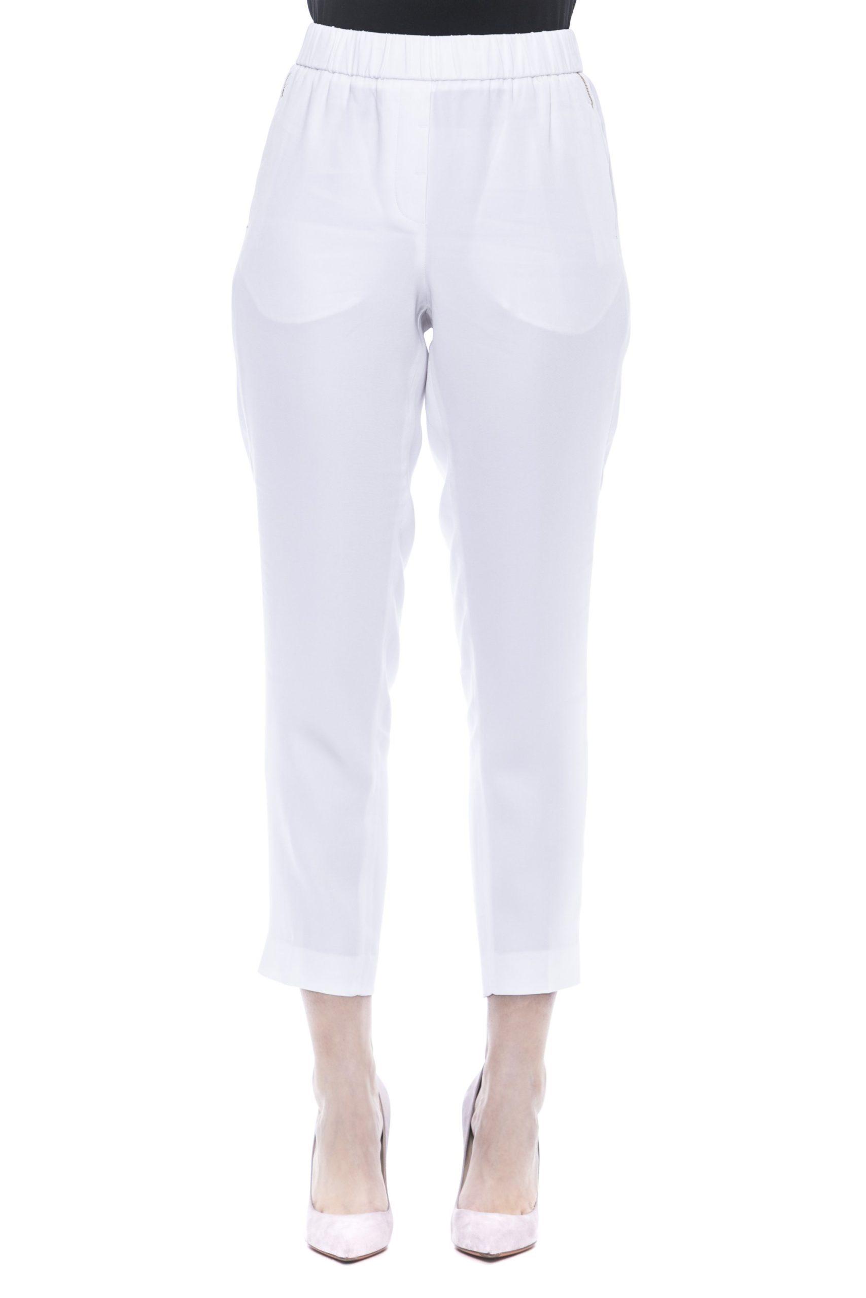 Bianco White Jeans & Pant - IT50 | XXL