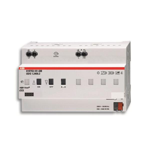 ABB 6197-0-0041 Valonsäädin 1–6 kanavaa KNX Suurin kytkentäteho: 2400 W
