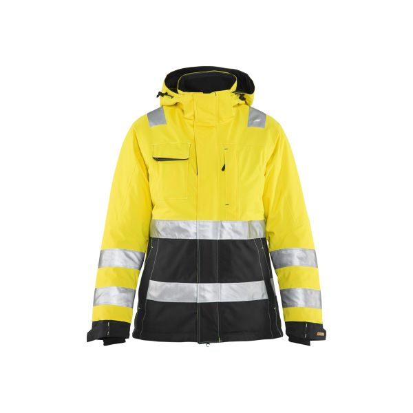 Blåkläder 487219873399M Varseljacka varselgul/svart, vinter Stl XL