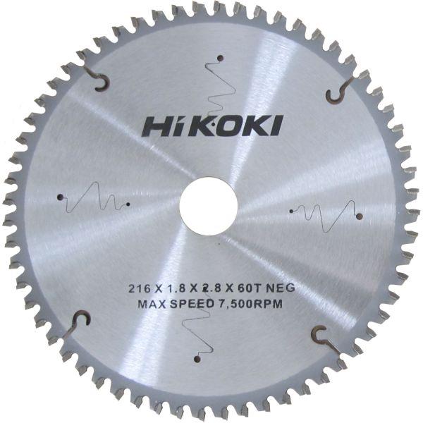 HiKOKI 60350071 Sahanterä 216 mm, 60T