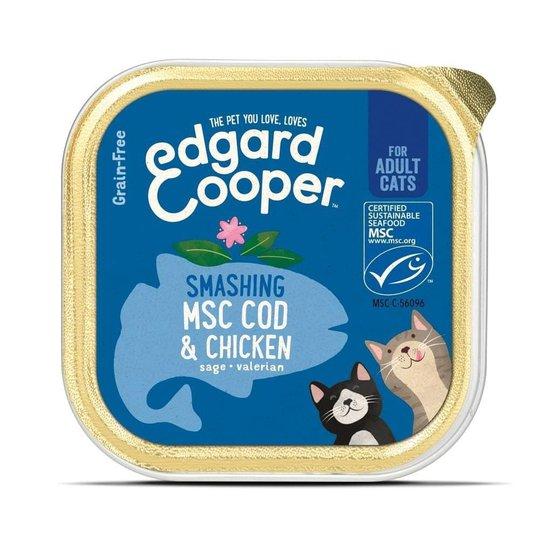 Edgard & Cooper Cat Kyckling & MSC-torsk 85 g