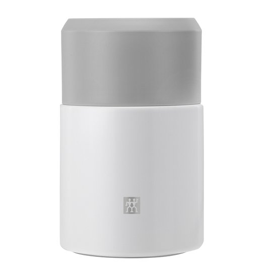 Zwilling - Zwilling Thermo Mattermos med Sked 0,7 L Silver/Vit