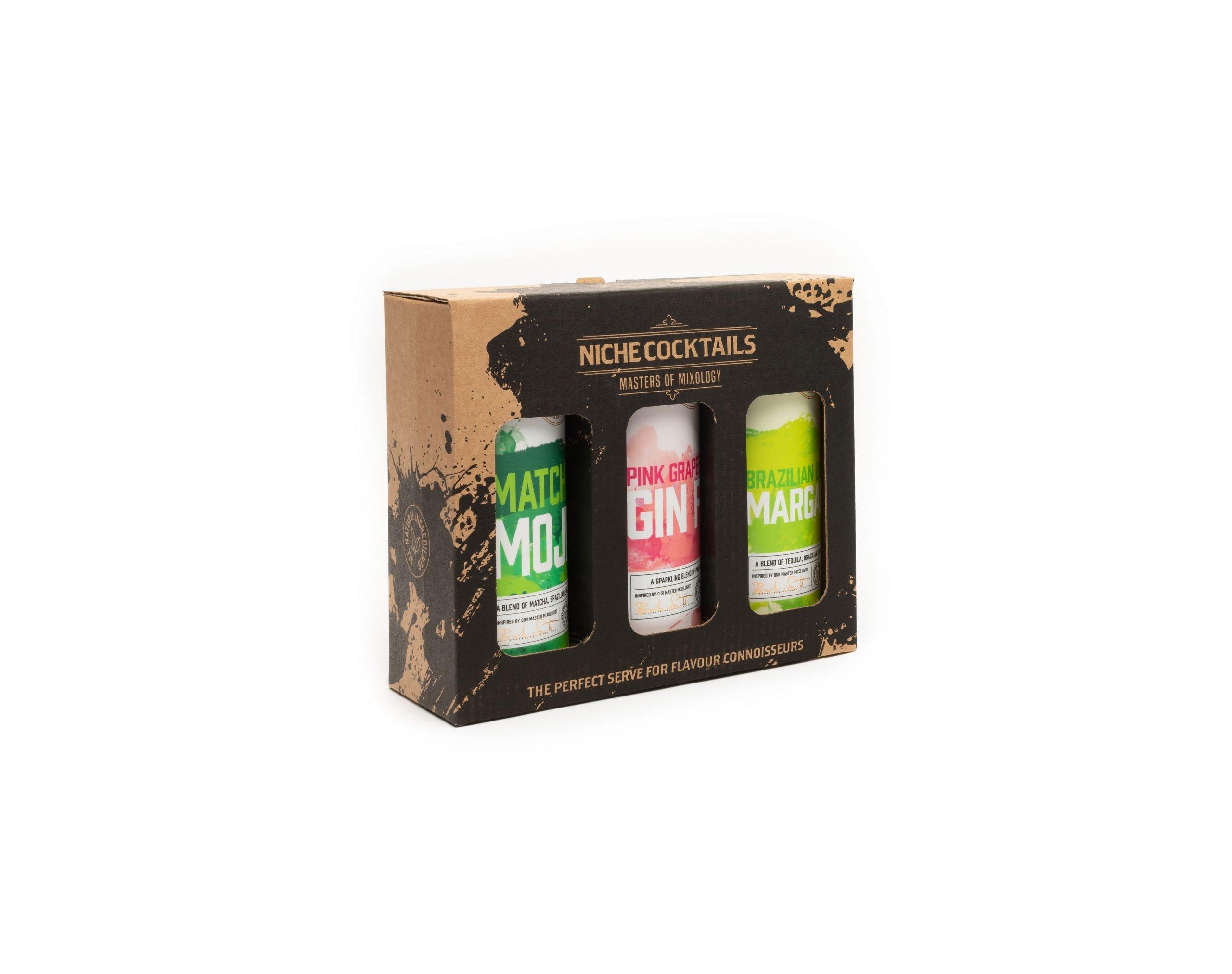 Niche Cocktail Variety 3x250ml Gift Pack