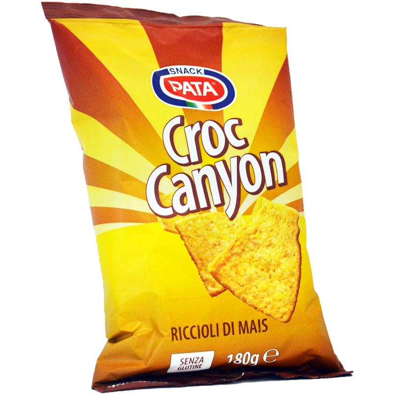 "Majssnacks ""Croc Canyon"" 180g - 74% rabatt"