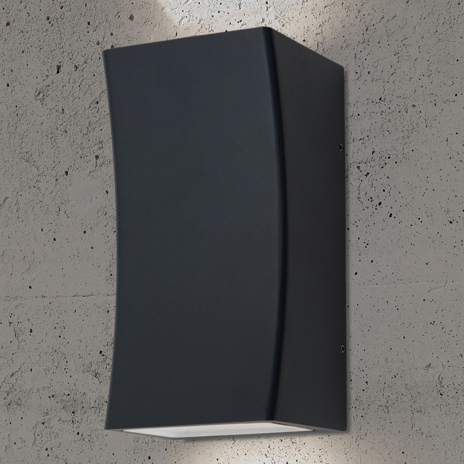Asha – LED-ulkoseinävalaisin, antrasiitti
