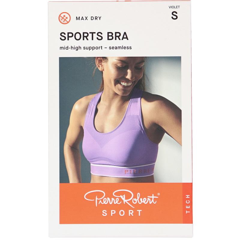 Sport-BH Medium Support Violet Stlk S - 72% rabatt
