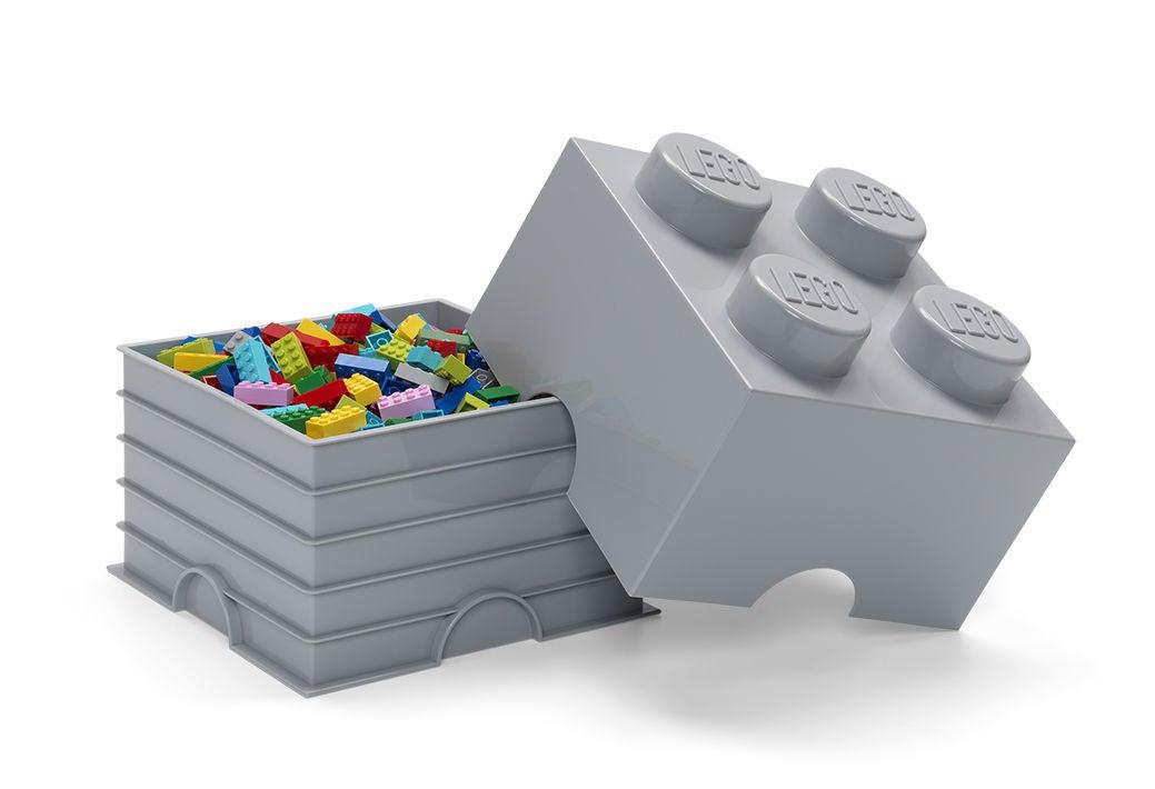 LEGO Säilytyslaatikko 4 Design Collection, Harmaa