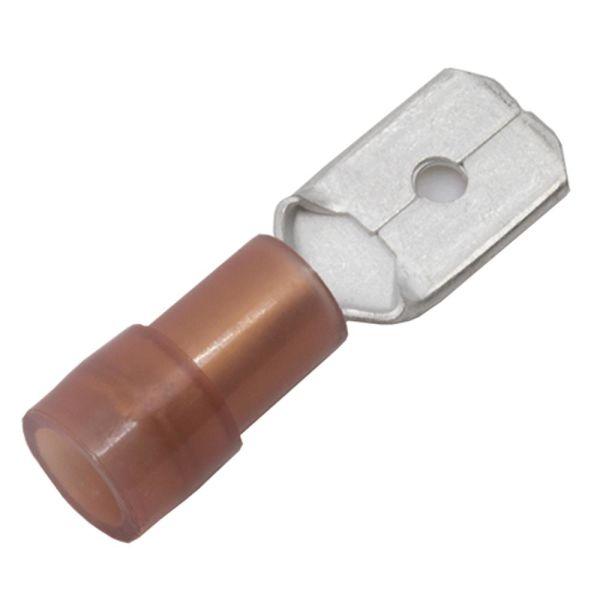 Abiko KA1507H-CP Kabelsko flatstift, 10-pakning