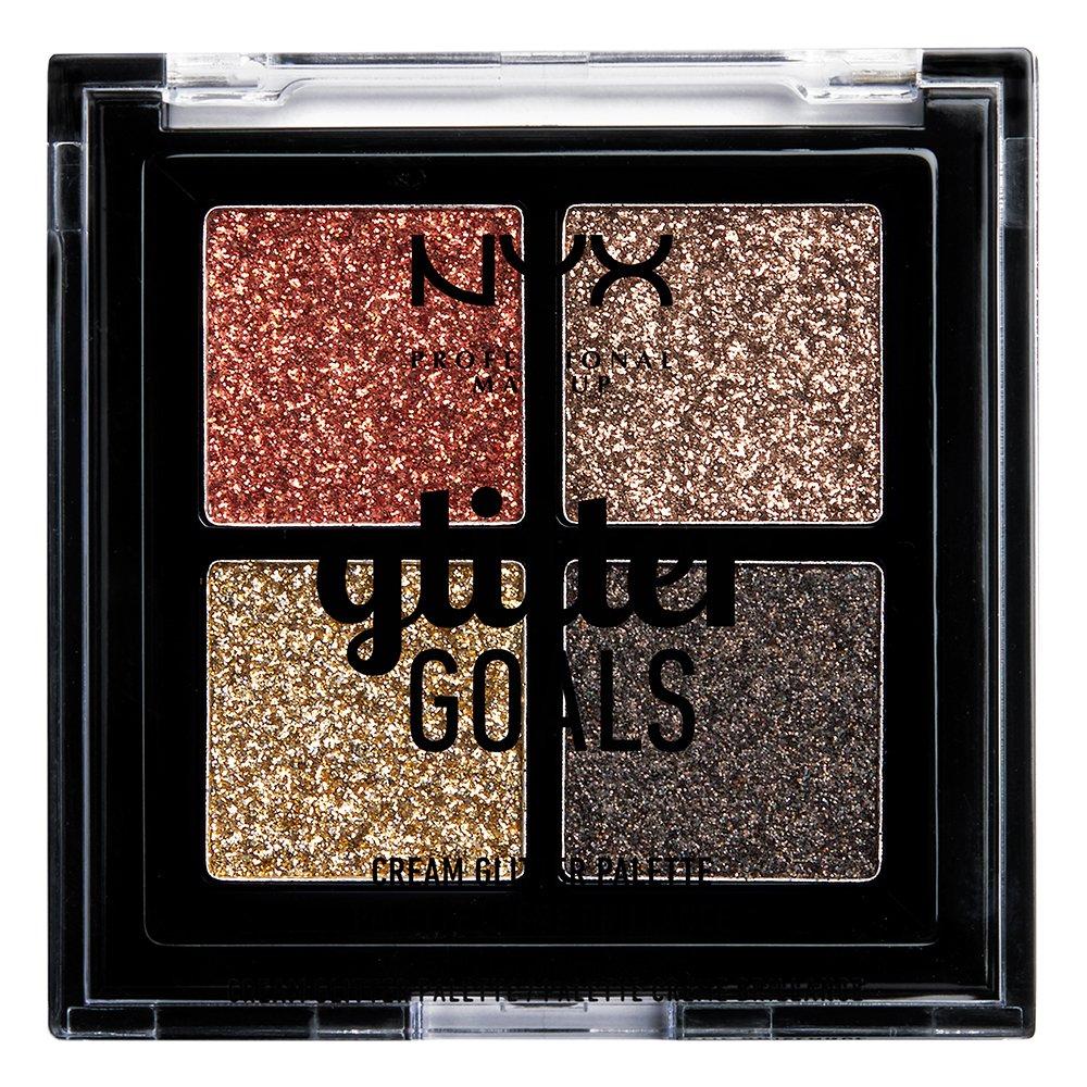 NYX Professional Makeup - Glitter Goals Cream Quad Palette - Galactica