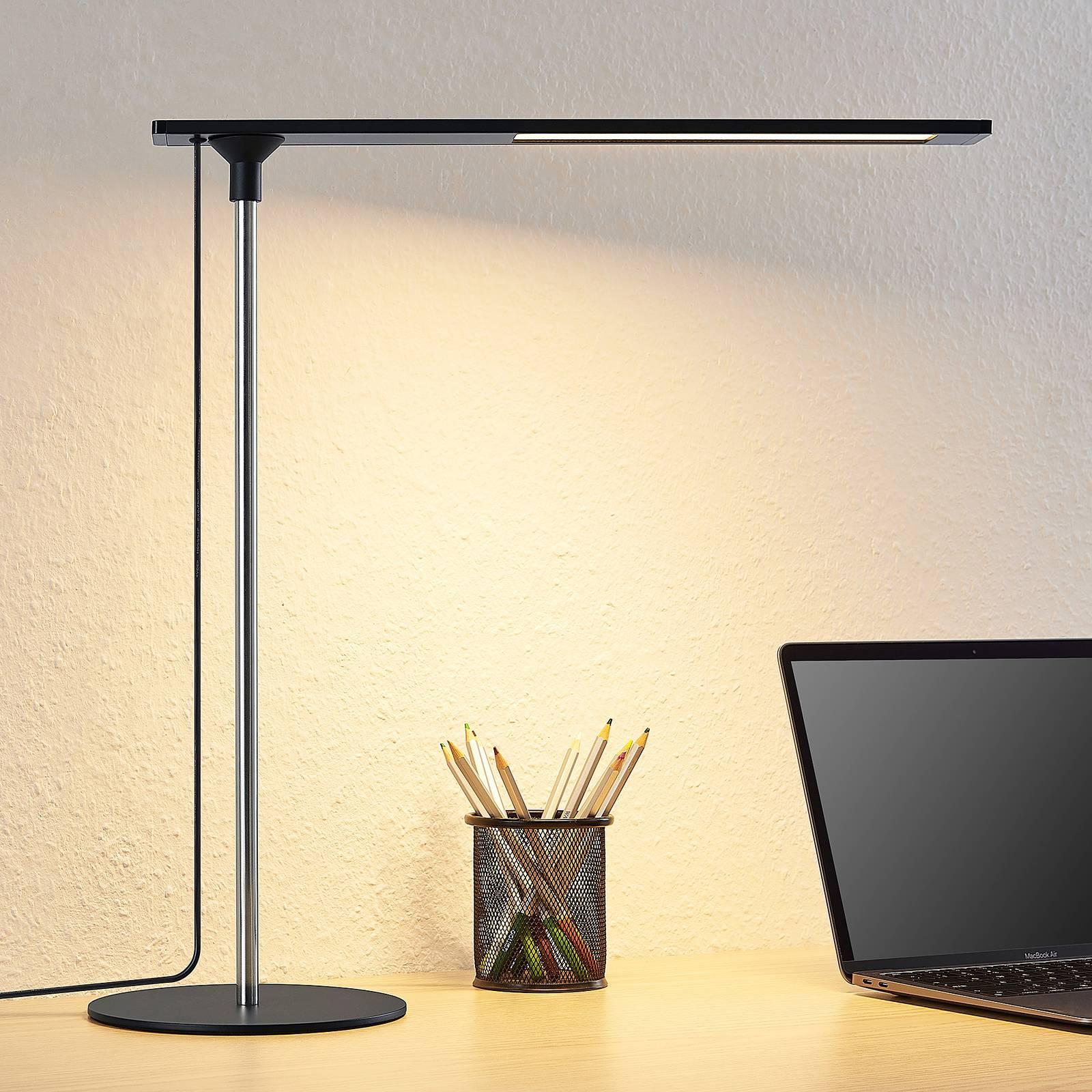 Lucande Pinami -LED-pöytävalaisin