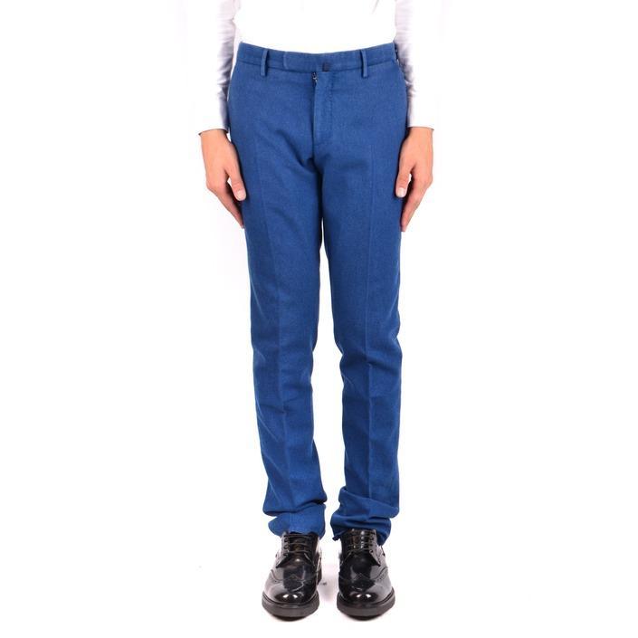 Incotex Men's Trouser Blue 163597 - blue 48
