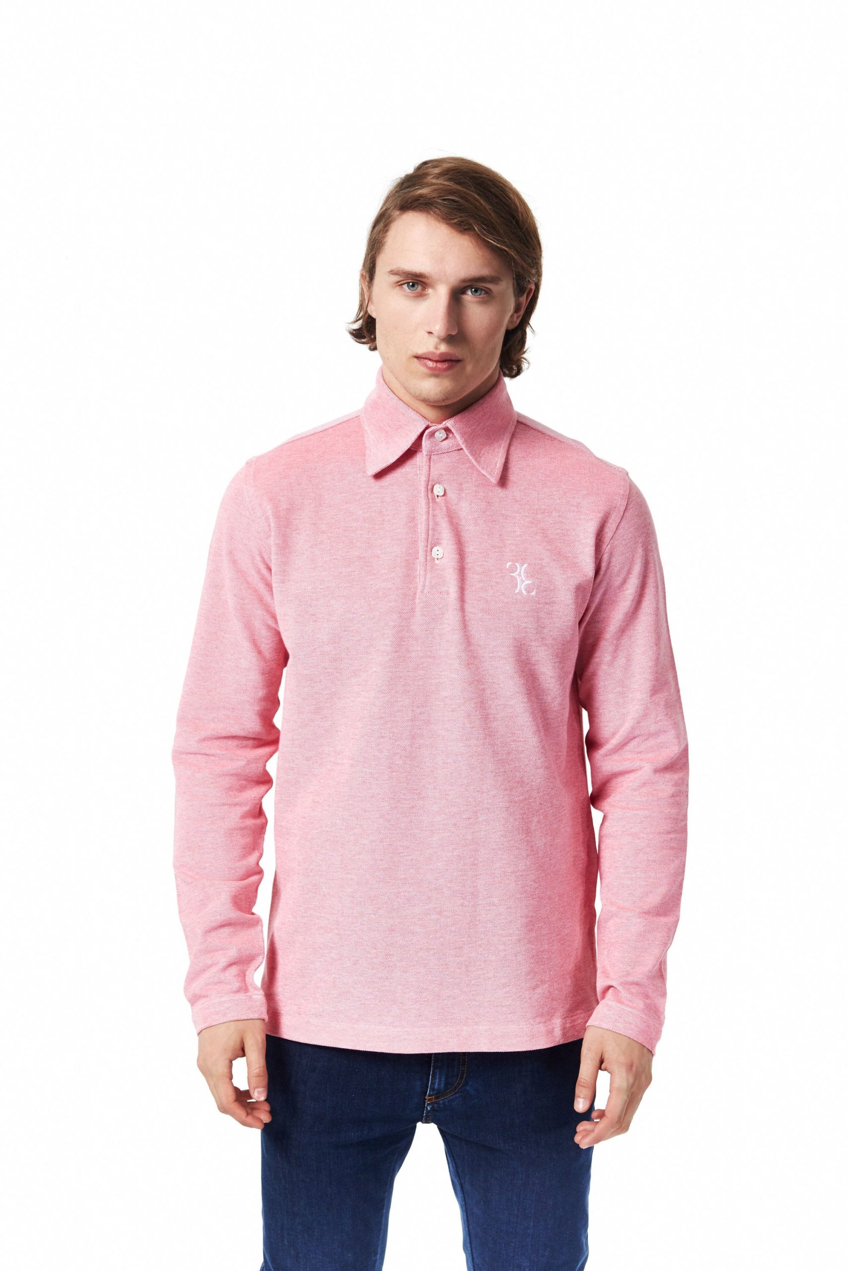 Billionaire Italian Couture Men's Fuxia Polo Shirt BI994638 - XS