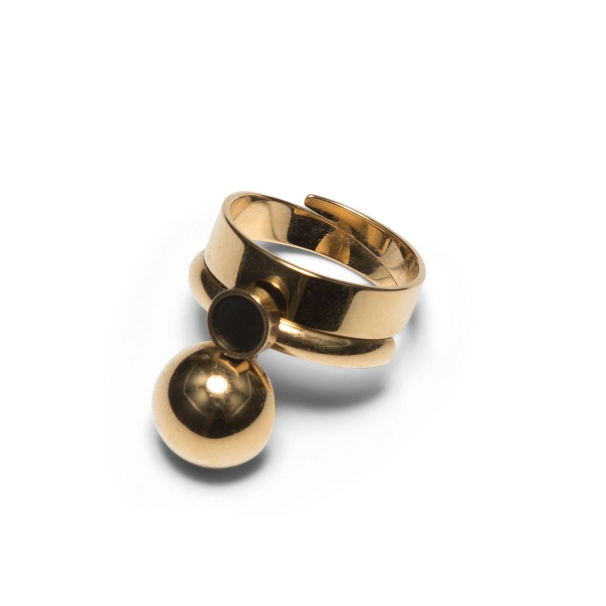 Sägen Ring Satellite R2 Golden