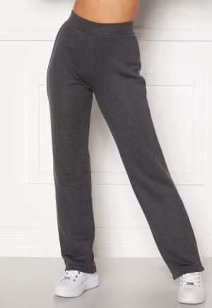 Happy Holly Jade soft pants Dark grey melange 36/38