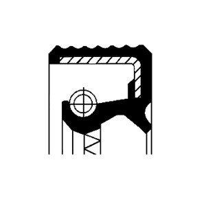 Oljepackningsring, hjullager, Bakaxel, Framaxel, Inre