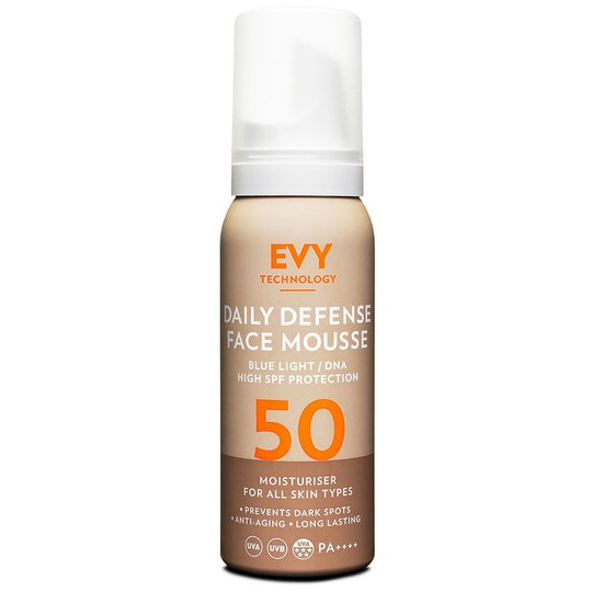 Daily Defence Face Mousse, 75 ml EVY Technology Kasvojen aurinkotuotteet