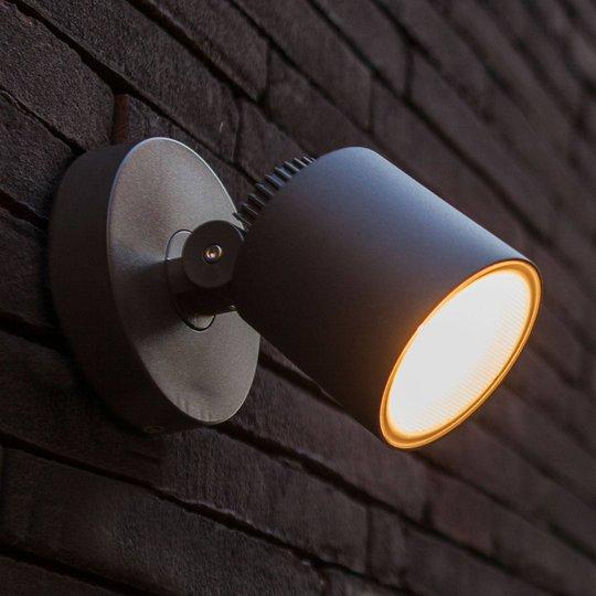LED-utendørs vegglampe Explorer
