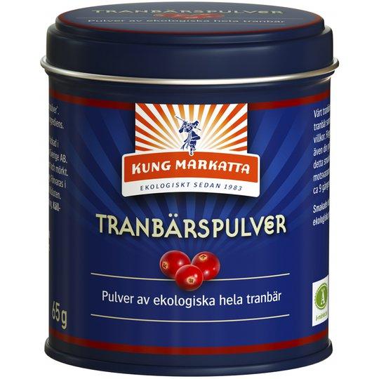 Eko Tranbärspulver - 45% rabatt