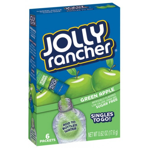 Jolly Rancher Singles to Go 6 pack - Green Apple