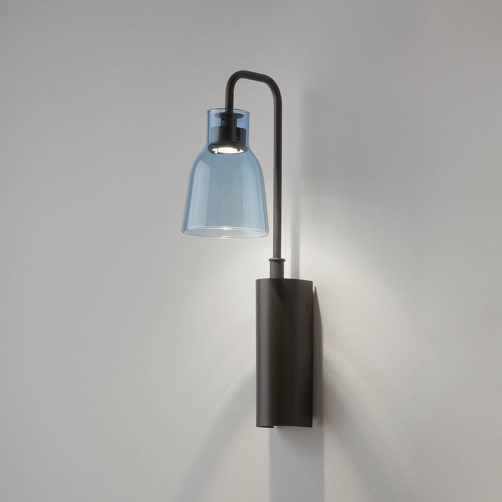 Bover Drip A/02 LED-seinävalaisin, sininen