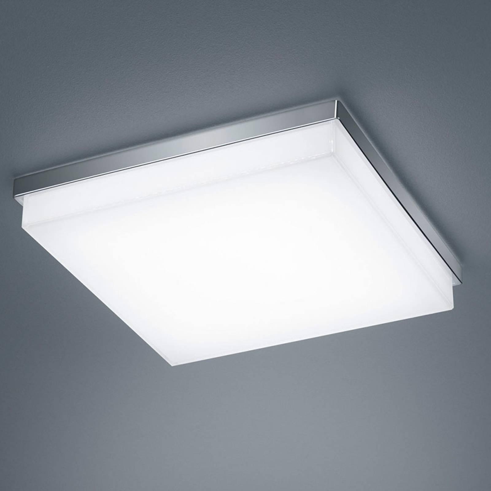 Helestra Cosi -LED-kattovalaisin kromi 31,5x31,5cm