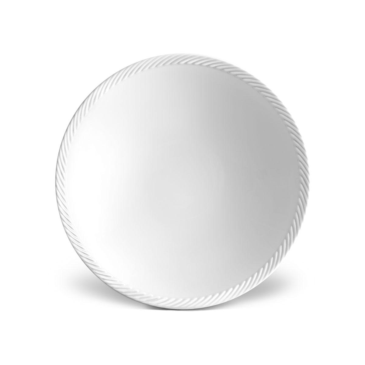 L'Objet I Corde Soup Plate White