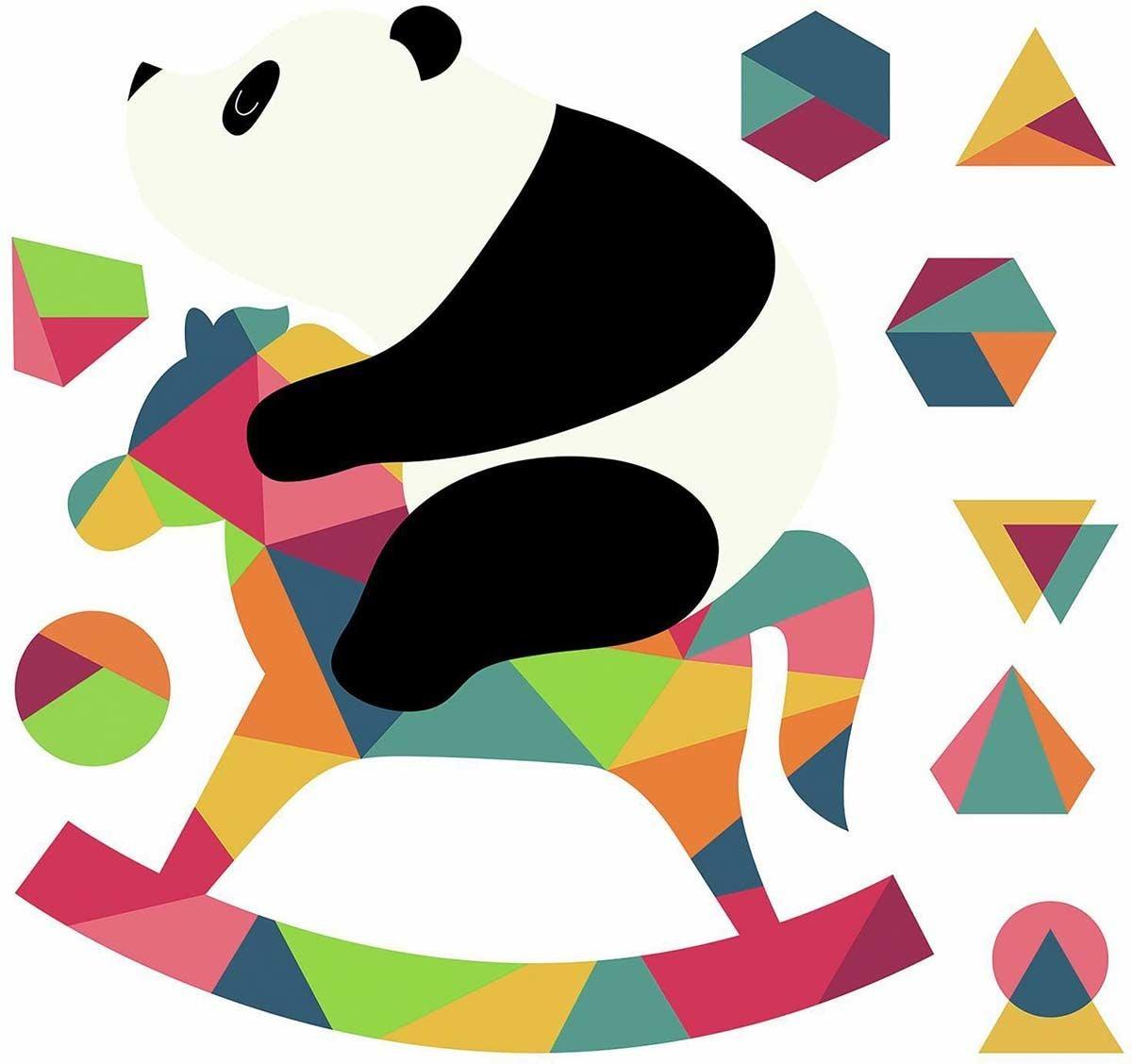 RoomMates Sisustustarrat Panda Nursery