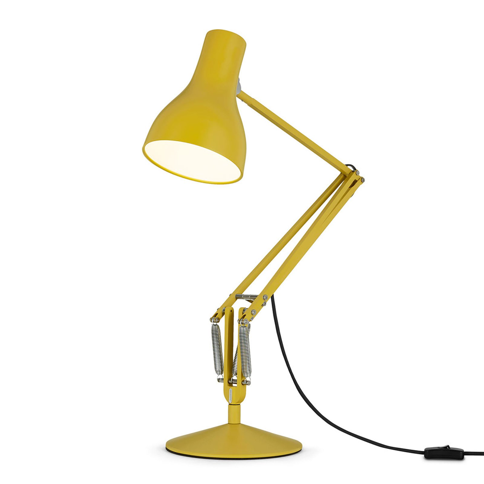 Anglepoise Type 75 bordlampe Margaret Howell gul