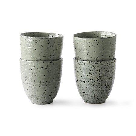 Gradient Ceramics Kopp Green 4 stk