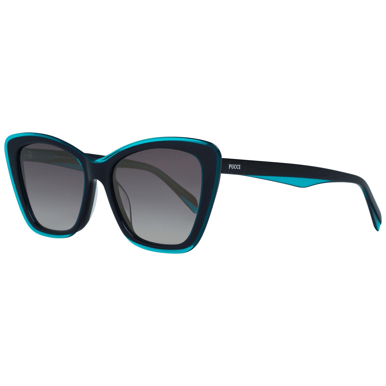 Emilio Pucci Women's Sunglasses Black EP0107 5589B
