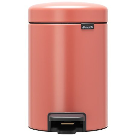 NewIcon Pedalbøtte Terracotta Pink 3 liter