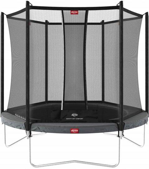 BERG Favorit Regular Trampoline 330 cm, Grå + Sikkerhetsnett Comfort