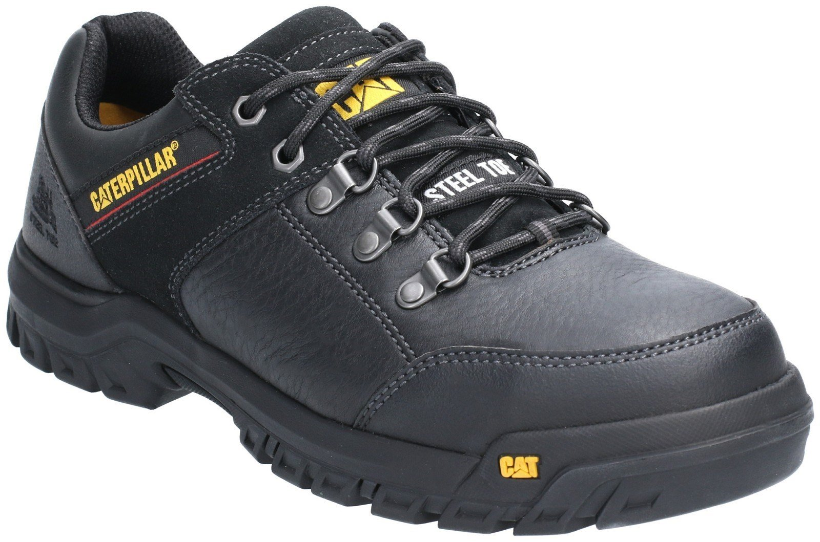 Caterpillar Men's Extension Lace Up Safety Boot Black 29658 - Black 6