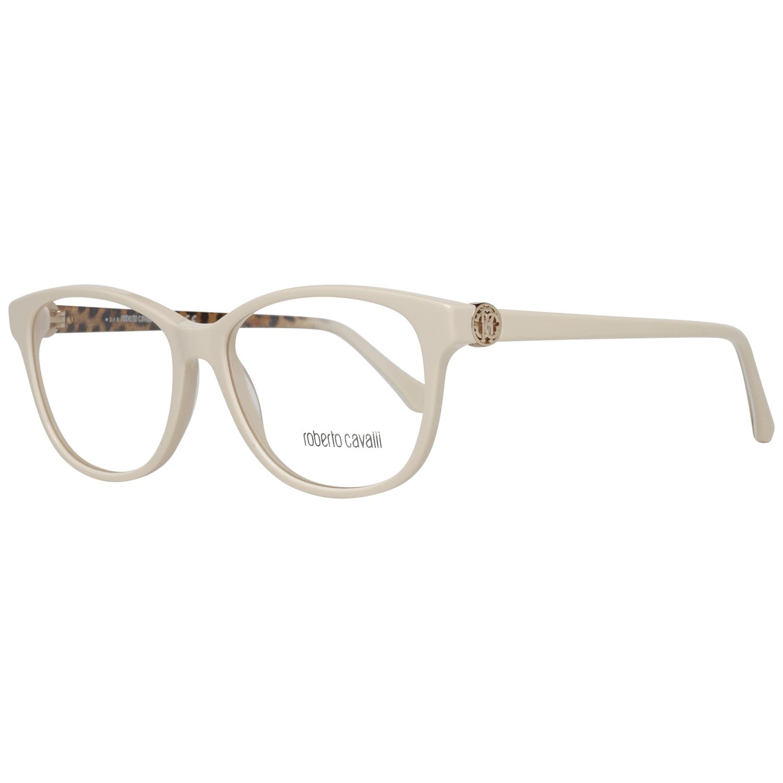 Roberto Cavalli Women's Optical Frames Eyewear Cream RC5074 54024