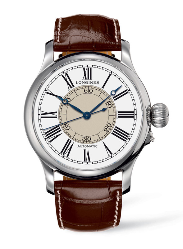 Longines Heritage Weems Second-Setting Watch L2.713.4.11.0