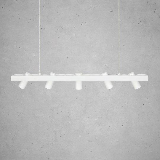 Hengelampe Torino, hvit
