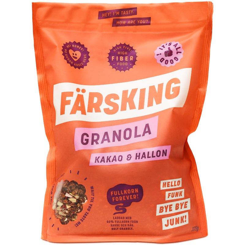 Granola Kakao & Hallon - 12% rabatt