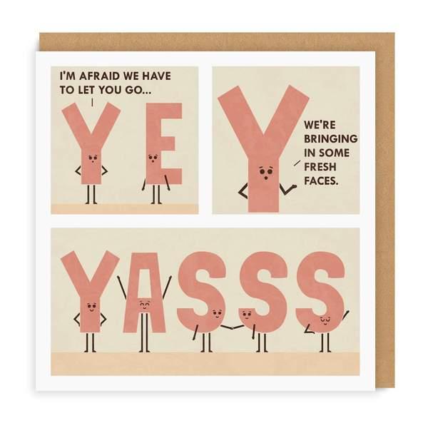 YASSS Square Greeting Card