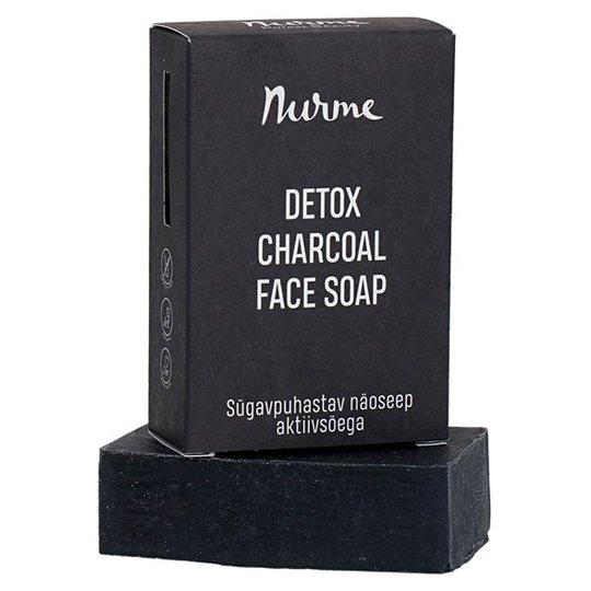 Nurme Detox Charcoal Face Soap, 100 g
