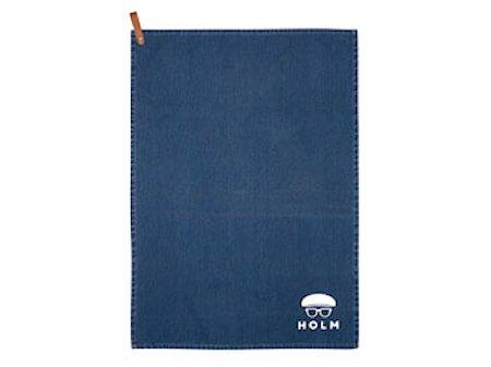 Håndkle 50x70 cm washed blå