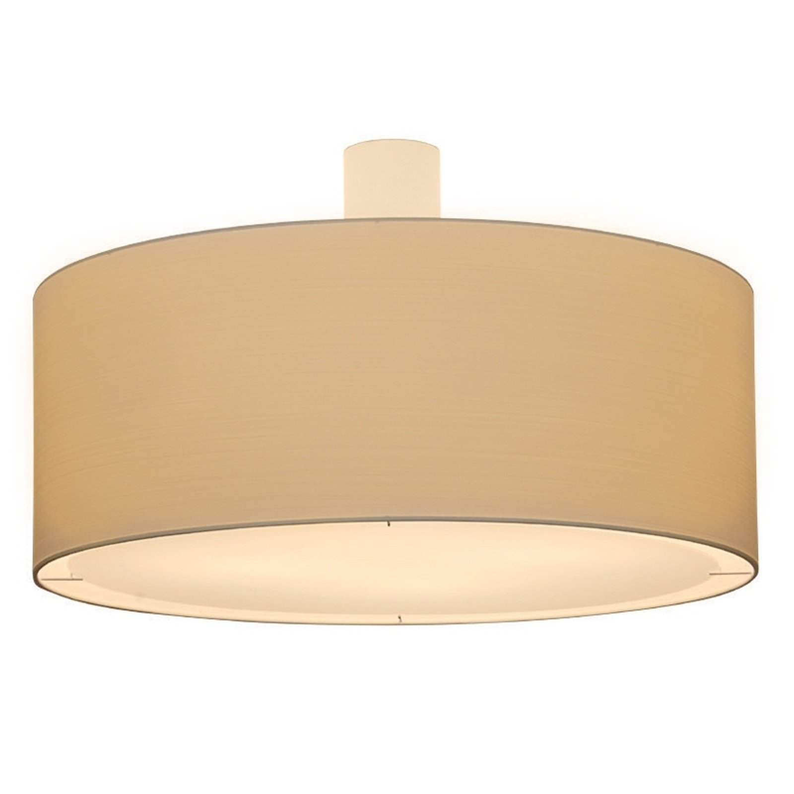 Kremfarget taklampe LIVING ELEGANT Ø 100 cm