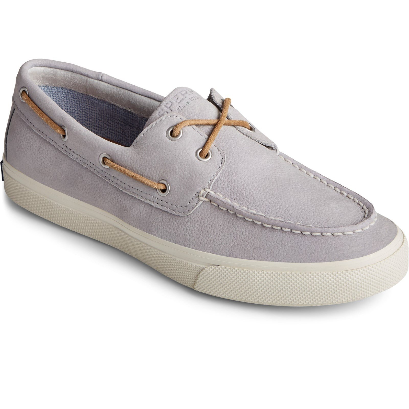 Sperry Men's Bahama Plushwave Boat Shoe Grey 32925 - Grey 10