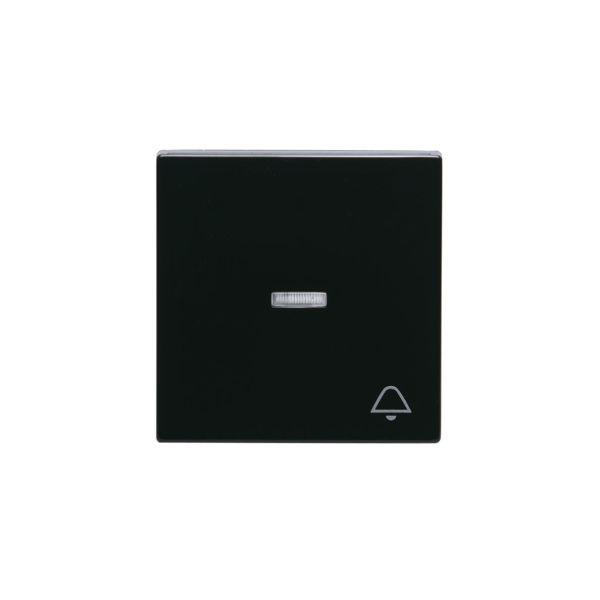 ABB 1789KL-81 Yksi kosketin 1-suuntainen, valkoinen linssi, kello Antrasiitti