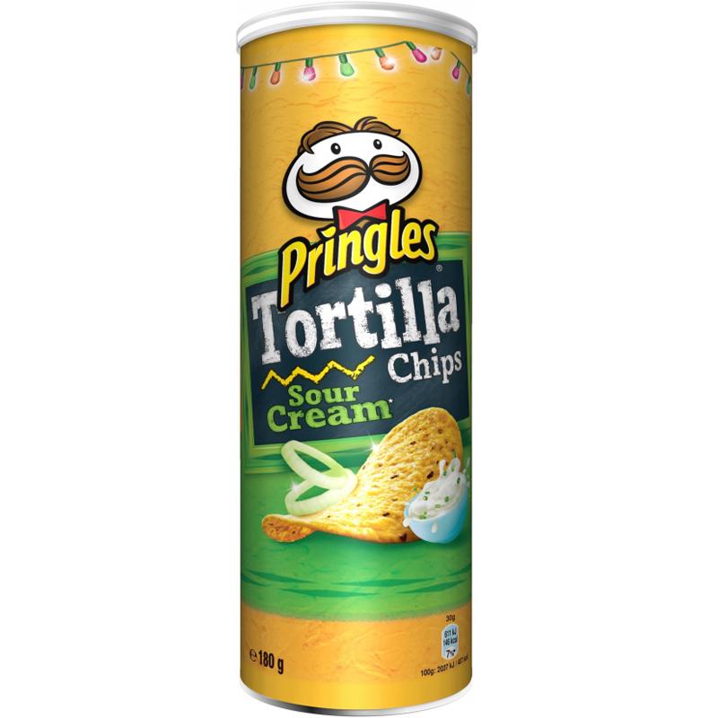 """Chips """"Tortilla Sour Cream"""" 180g - 10% rabatt"""