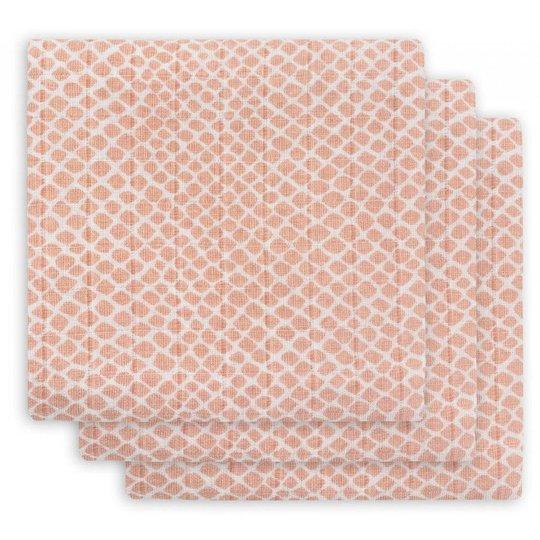 Jollein Muslinfilt Orm 3p, Pale Pink
