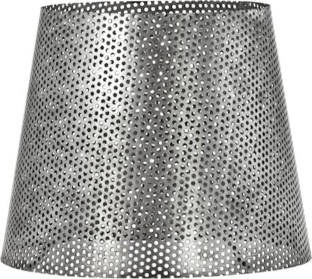 Mia hålad lampskärm Antik silver 17cm